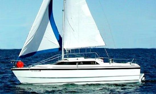 Sailing A Macgregor 26x In The Sea Of Cortez