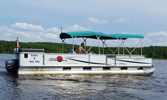 "Sun Tracker Pontoon ""Big Girl"" in Wake Forest"