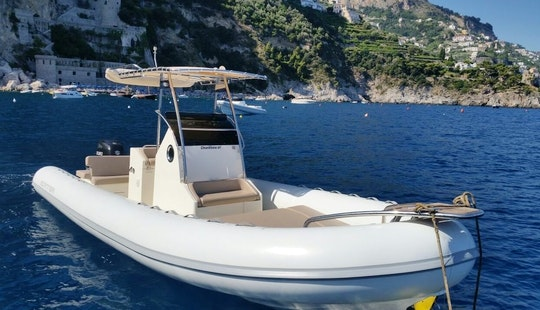Explore Amalfi Coast On Inflatable Scanner 870 Boat