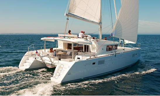 Lagoon 450 Sport Top - Catamaran Charter For Up To 12 Guests