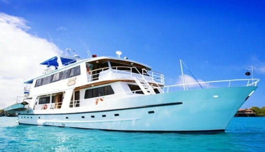 Discover Galapagos Island On Motor Yacht