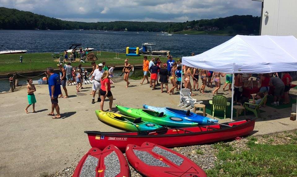 Kayak Rentals at Indian Lake Marina, PA