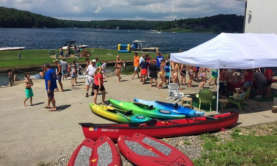 Kayak Rentals At Indian Lake Marina, Pa