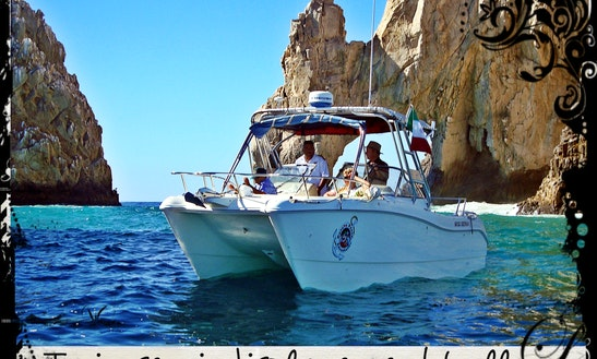 Rent 25' Power Catamaran In Cabo San Lucas, Mexico