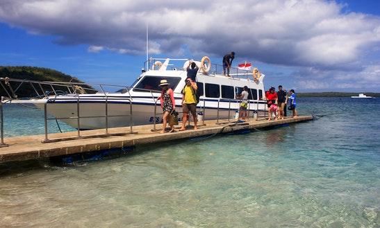 Passenger Boat Rental Lembongan Island