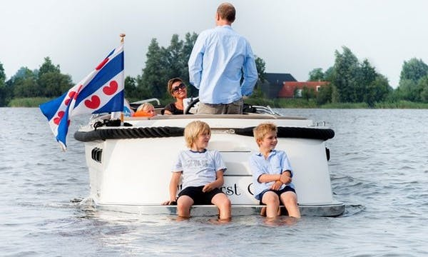 Hire  23' Canal Boat in Friesland, Netherlands