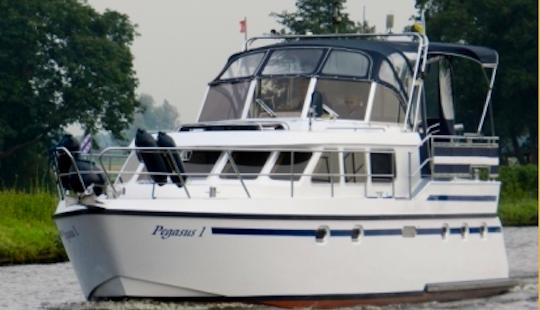 Charter 39' Pegasus 1 Motor Yacht In Friesland, Netherlands