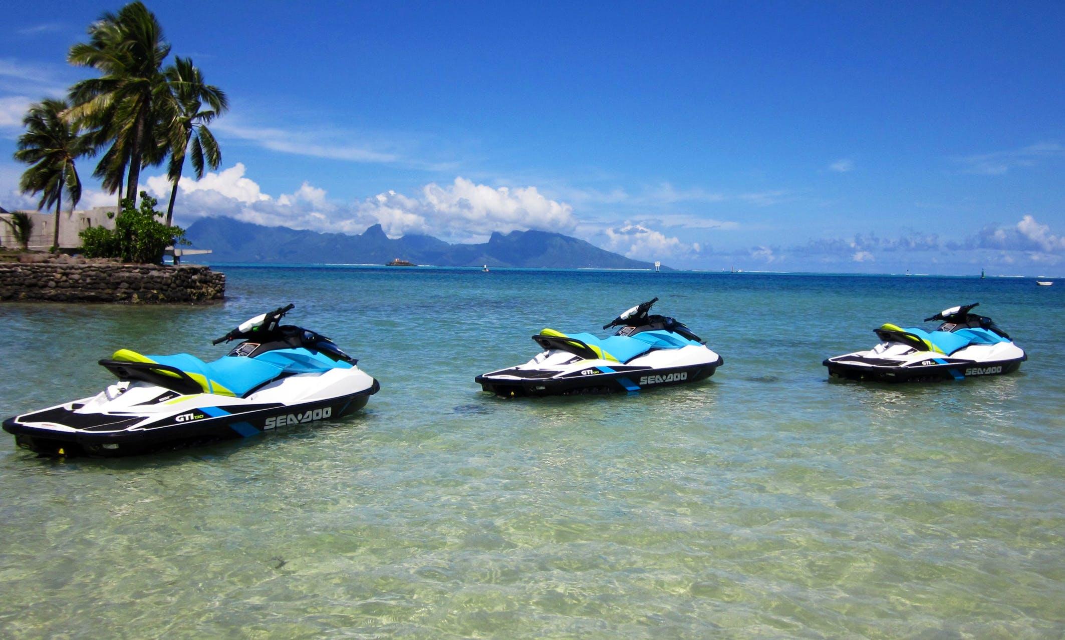 Jet Ski Tour in Papeete