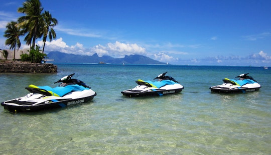 Jet Ski Tour In Papeete