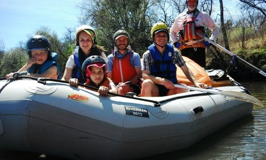 Whitewater Rafting On Vaal River In Vanderbijlpark, South Africa