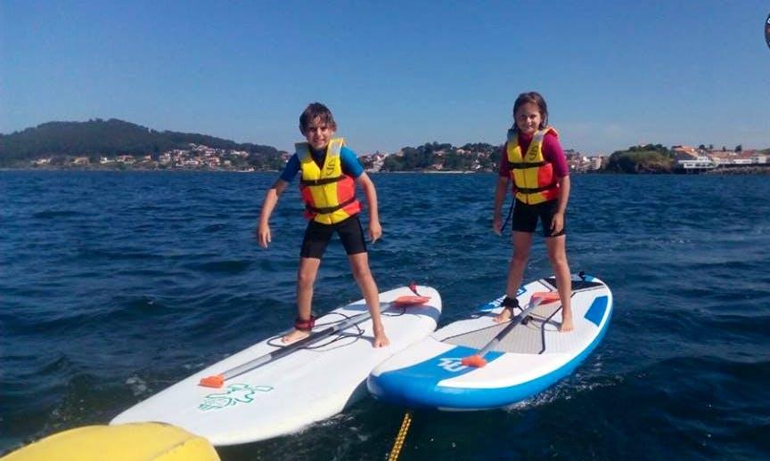 Paddle Surf Lesson in Vigo, Galicia