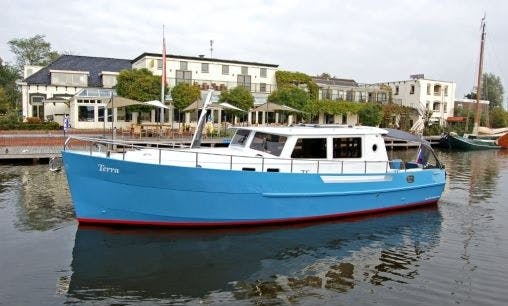 Charter 36' Terra Motor Yacht in Friesland, Netherlands