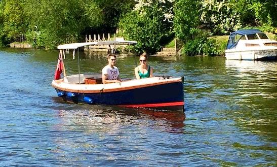 Enjoy Maidenhead, England On 21' Frolic Electric Boat