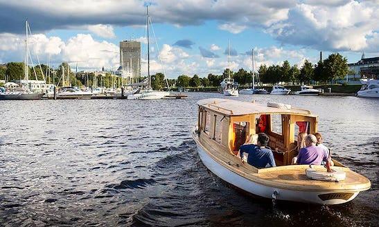 Rent Juwel Canal Boat In Riga, Latvia