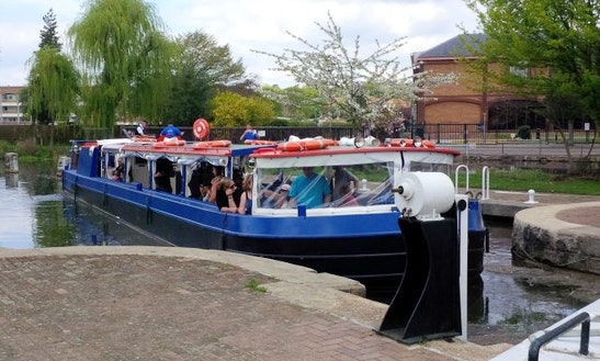 Hire Canal Boat In Roydon, United Kingdom