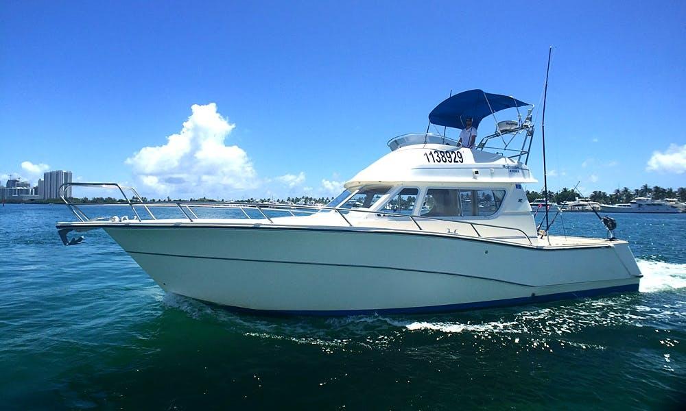 Beautiful 42' Sportfish for Charter in North Miami
