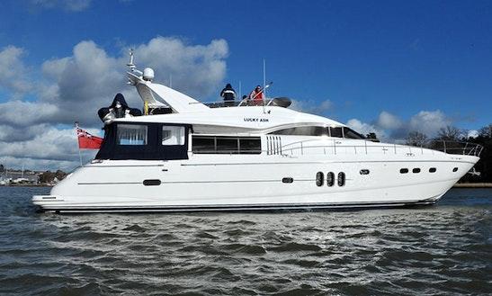 Explore Swanwick, United Kingdom On 77' Power Mega Yacht