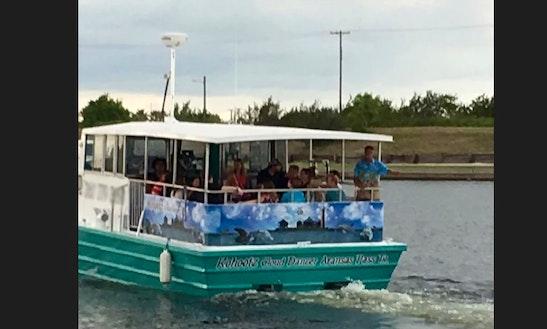 Port Aransas Inter Coastal Key Islands Cruise With Captain Gary & Sue