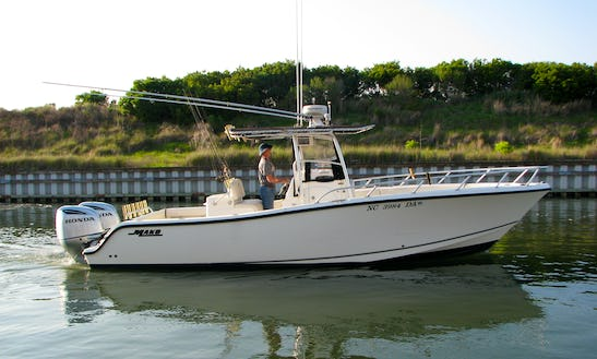 Charter Fishing On 28' Center Console With Captain Forest