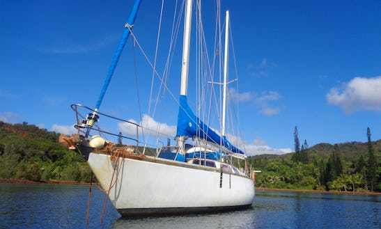 Sailing The Southern Island On 44ft