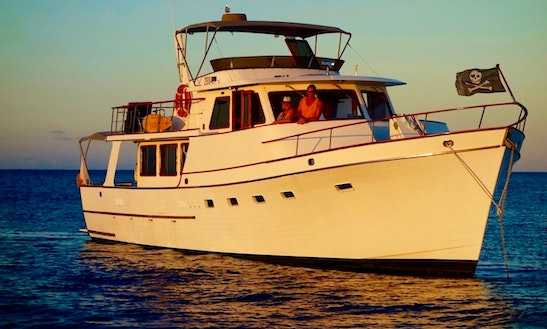 Enjoy New Caledonia On Ocean Alexander 57 Trawler  Yacht