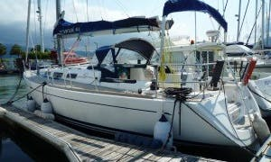 Sailing Charter on Dufour 40 Cruising Monohull in Hendaye, France
