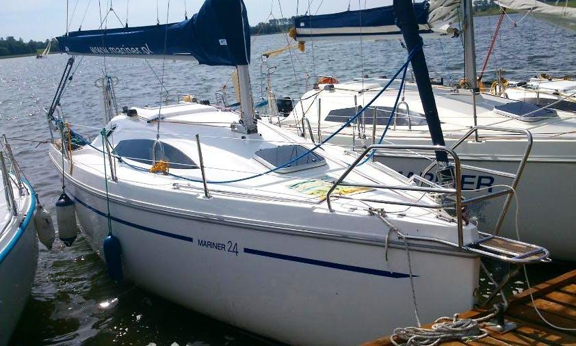 Enjoy Myslowice, Poland on 24' Mariner 2015 Cruising Monohull