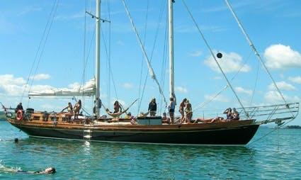 "Sail Waitemata Harbour, Auckland on ""Haparanda"" Classic Schooner"