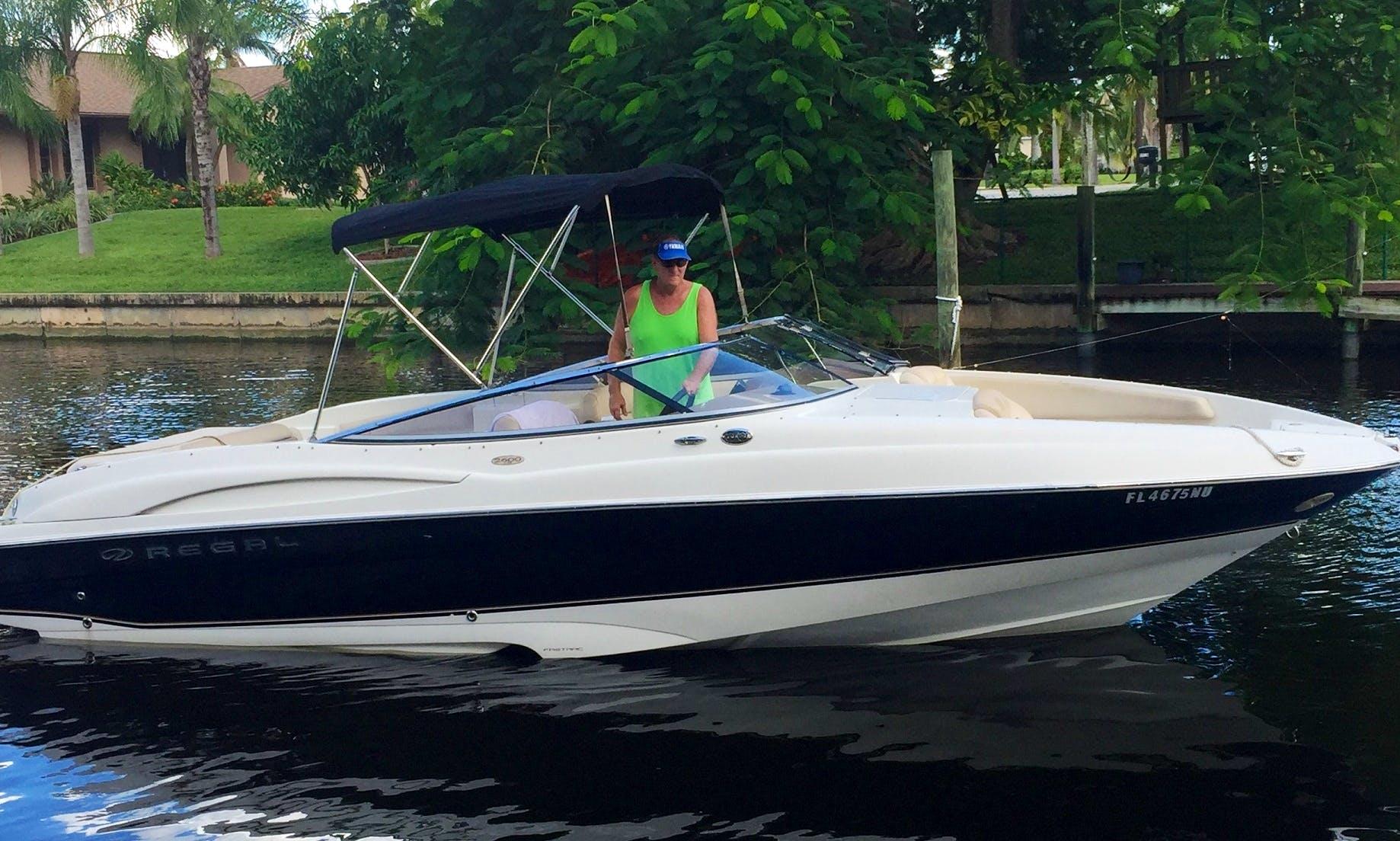 26' Regal 2600 LSR Bowrider in Cape Coral, Florida
