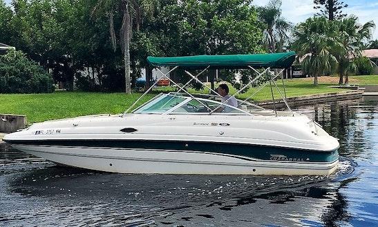 24' Chaparral 233 Sunesta Deckboat In Cape Coral, Florida