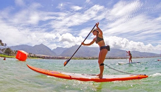 Learn Stand Up Paddleboarding On Maui Southside, Hawaii