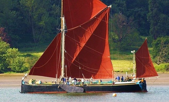 Enjoy Bramford On Sailing Yacht With Victor Sailing Barge