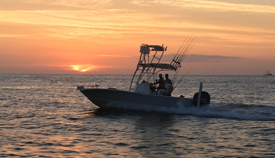 Fishing Charters On A Center Console Rental In St. Augustine, Fl