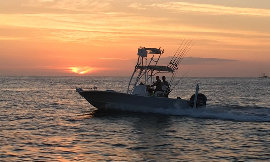 Fishing Charters On Center Console Rental In St. Augustine, Fl