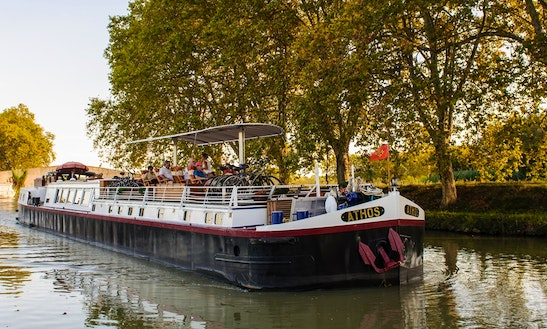 Explore Canal Du Midi, Argeliers On 103' Canal Boat