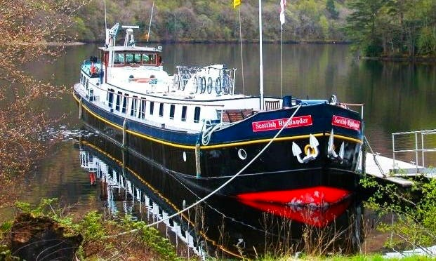 Explore Muirtown, Scotland on 117' Canal Boat
