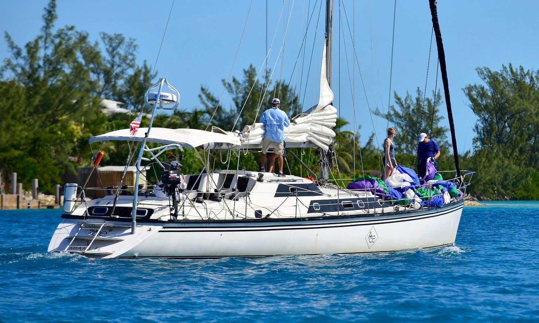 "Sailing Trips on Cruising Monohull ""Ace"" in Miami, FL"