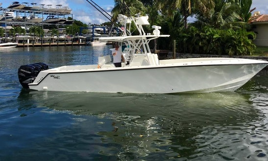 34' Center Console Fishing Charter In North Miami, Florida