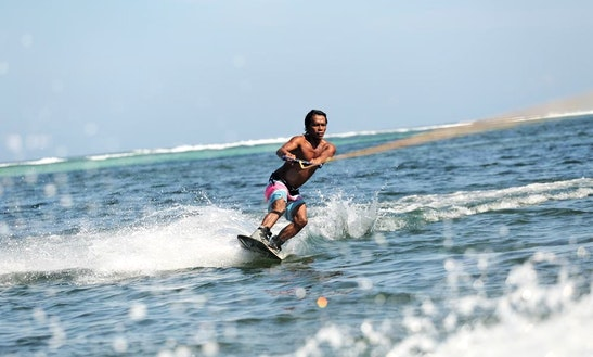 Get Your Adrenaline Going While Wakeboarding In Kuta Selatan, Bali