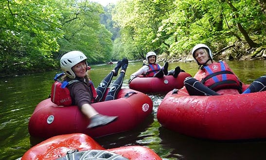 Explore River Derwent, England On A Tube Raft