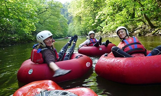 Explore River Derwent, England On Tube Raft
