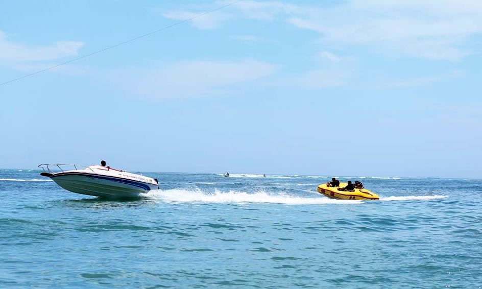 Enjoy Donut Tube Watersport in Kuta Selatan, Bali