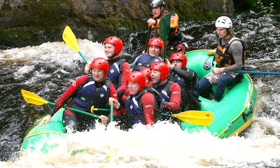 Enjoy White Water Rafting In South Wales