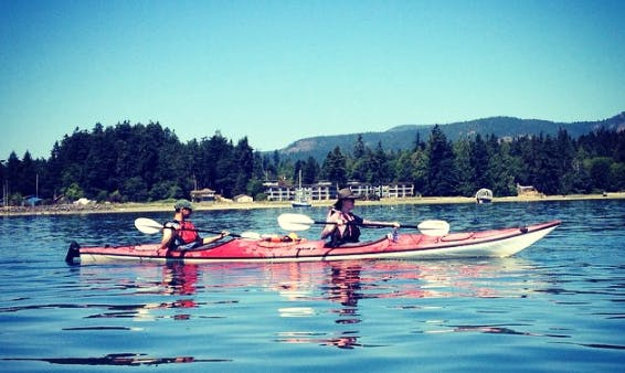 Enjoy Double Kayak Rental and Tours in Sooke, Canada