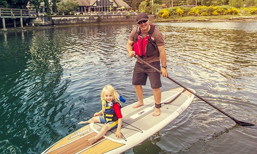 Enjoy Paddleboard Rentals and SUP Yoga in Sooke, Canada