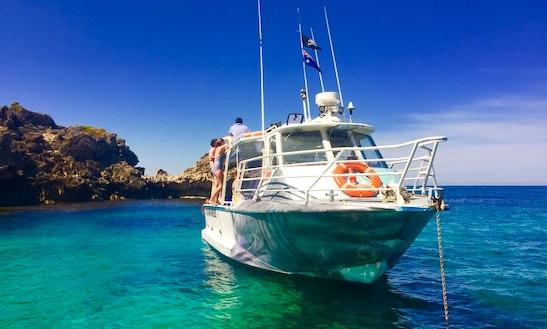 40' Boat Adventure Cruise On Rottnest Island