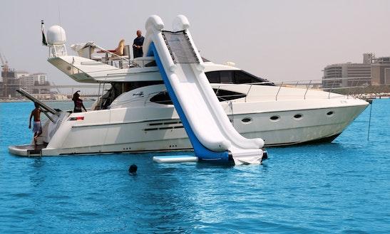 52' Azimuth Motor Yacht Rental In Dubai, Uae