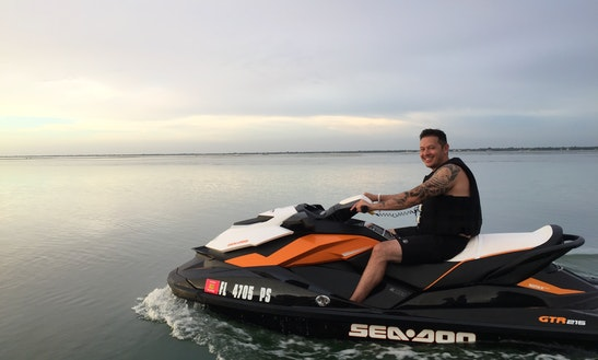 Jet Ski / Wave Runners (2) For Rent In Sarasota, Bradenton. High Speed, Powerful 215hp