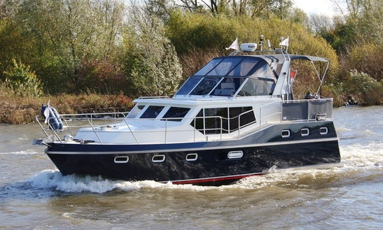 Explore Rotterdam, Netherlands On 36' Motor Yacht