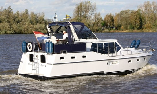 Explore Rotterdam, Netherlands On 40' Motor Yacht